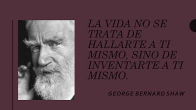 cita george bernard shaw