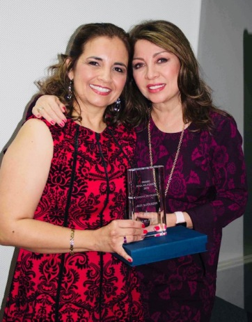 Alex M. Fourzan y Arlette Pacheco