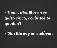meme diez libros y un cadaver