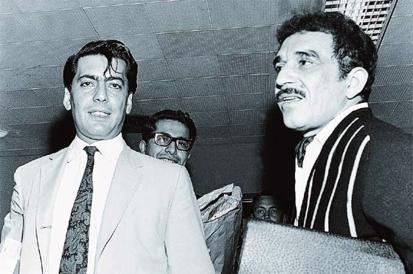 Mario Vargas Llosa y Gabriel García Márquez
