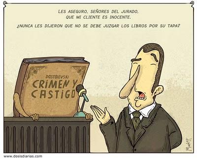 crimen-y-castigo humor literario